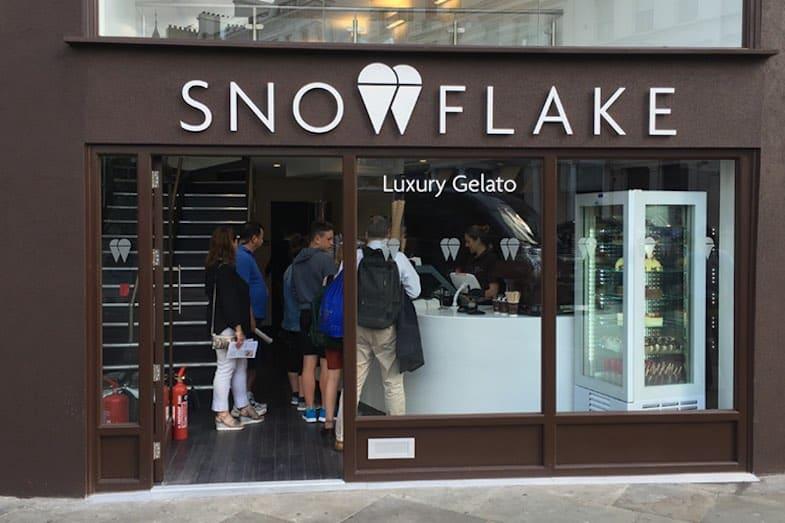 Snowflake Luxury Gelato en Londres