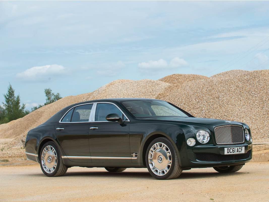 Bentley Mulsanne Saloon 2012 de la reina Elizabeth II