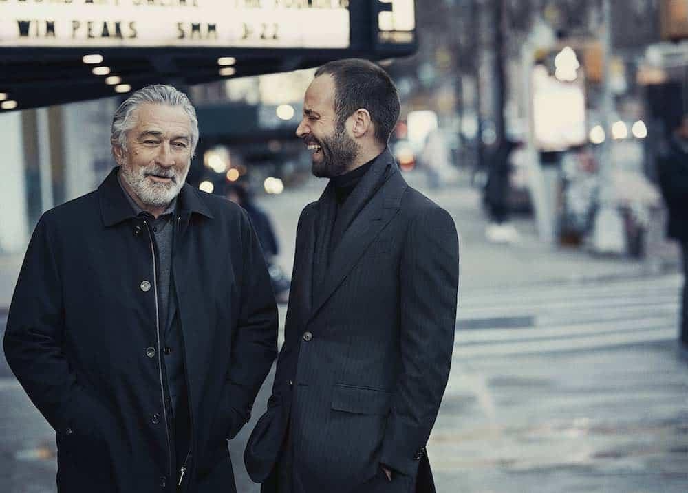 """Ermenegildo Zegna anuncia su campaña Otoño-Invierno 2017 """"Defining Moments"""" protagonizada por Robert De Niro y Benjamin Millepied"""
