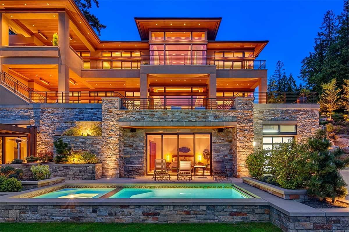 Mega ricos mansiones en washington archives esta ultra lujosa mega propiedad frente a un lago en bellevue washington se vende por altavistaventures Image collections