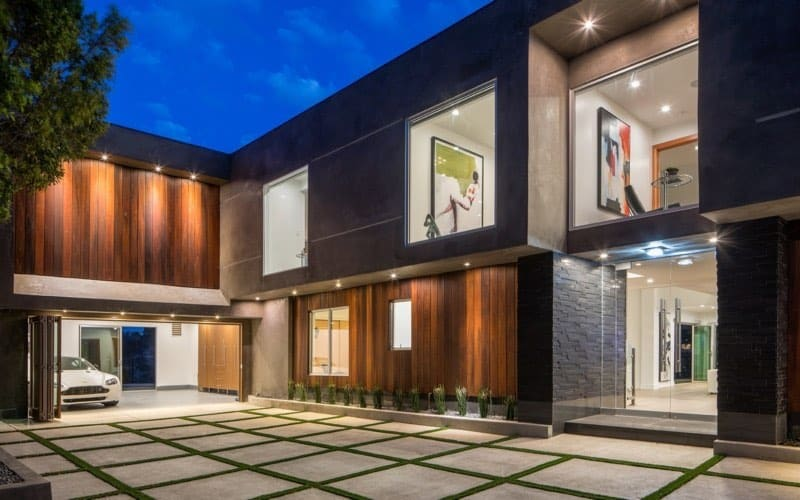 Ponen a la venta esta maravillosa mansión contemporánea en Sherman Oaks, California por $3,995,000
