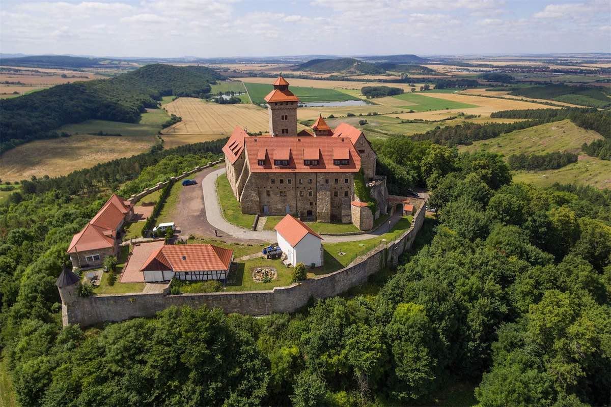 Mega espectacular castillo alemán de más de 1000 años sale a la venta, precio bajo petición