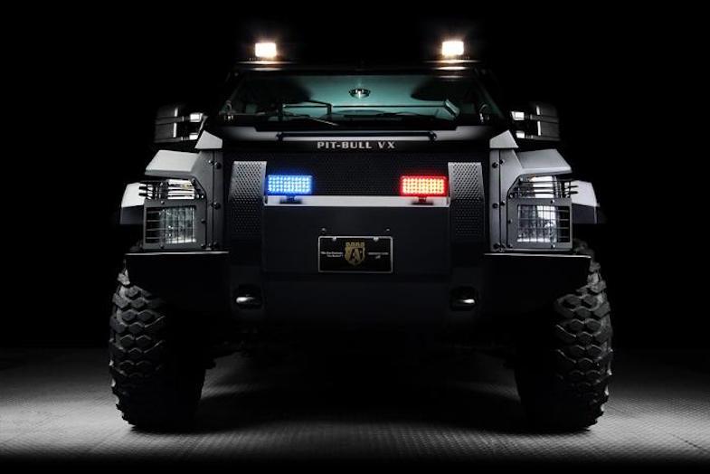 Ford F550: Un vehículo blindado todoterreno de $288.000 listo para las fuerzas especiales
