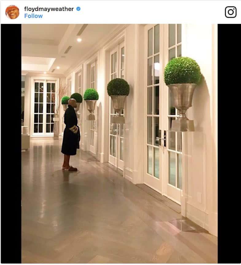 Haga un tour por la nueva mega mansión de $25.5 millones de Floyd Mayweather en Beverly Hills, California