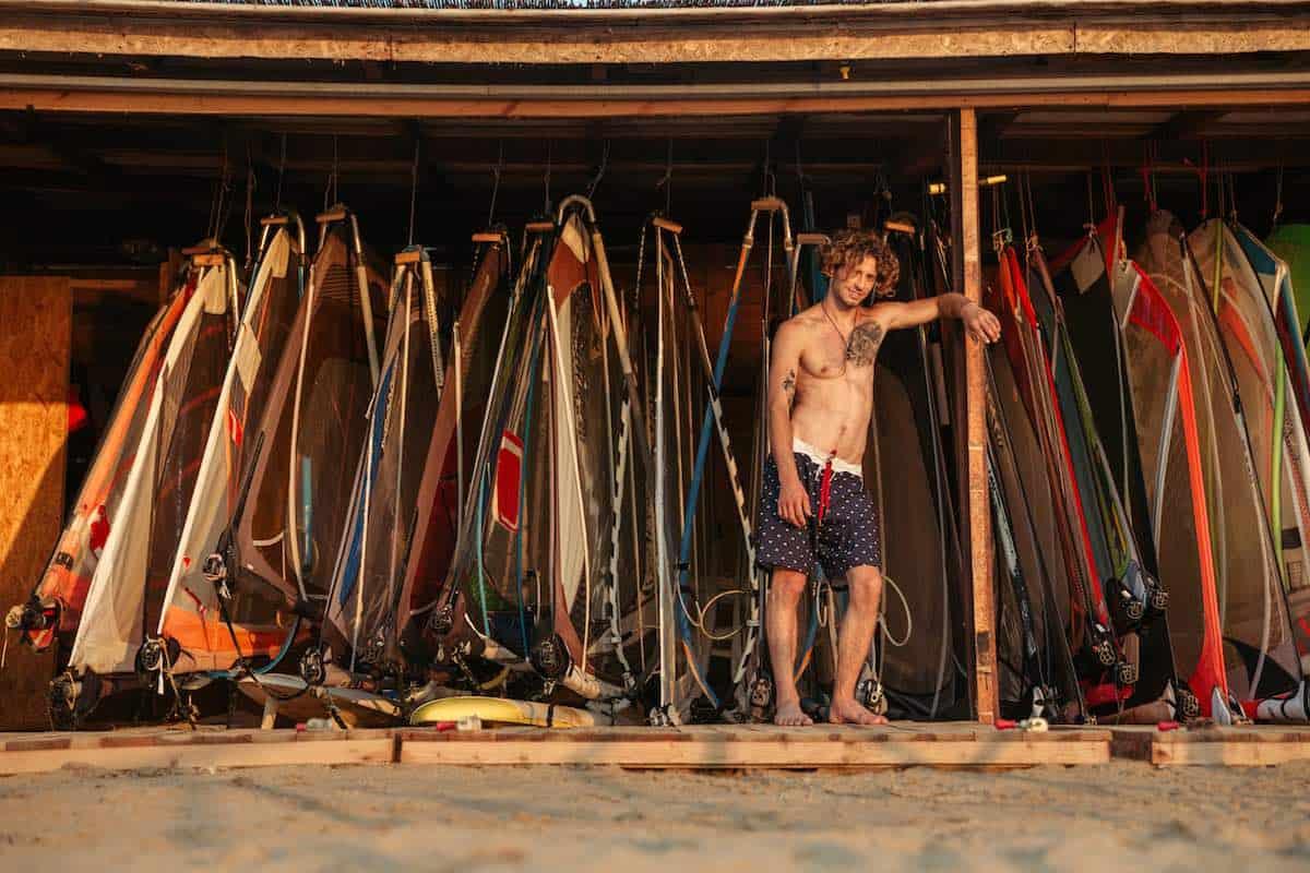 Si eres aficionado al windsurf… Paros