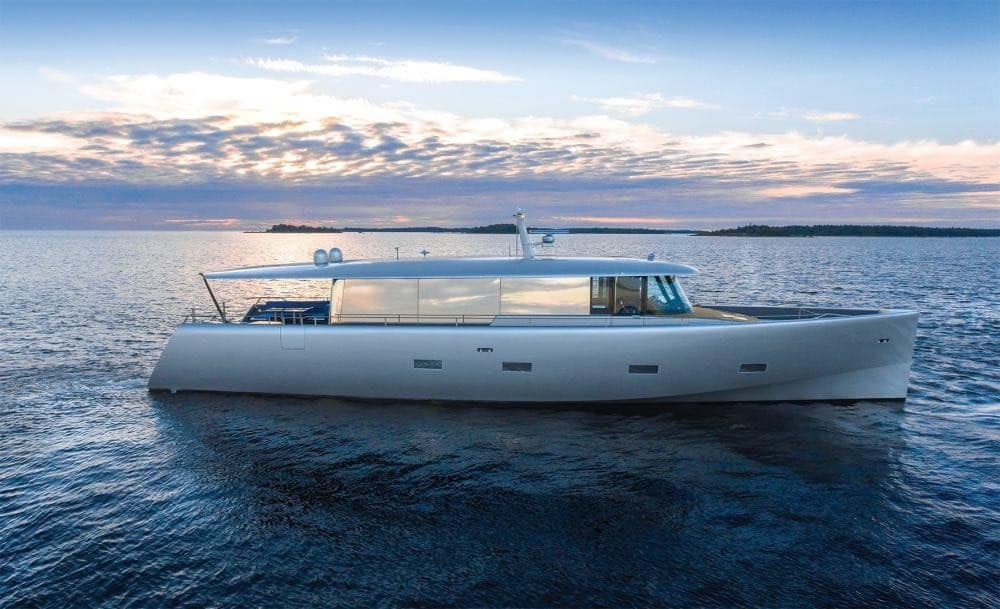 BILL AND ME: Un nuevo super yate concepto por Baltic Yachts