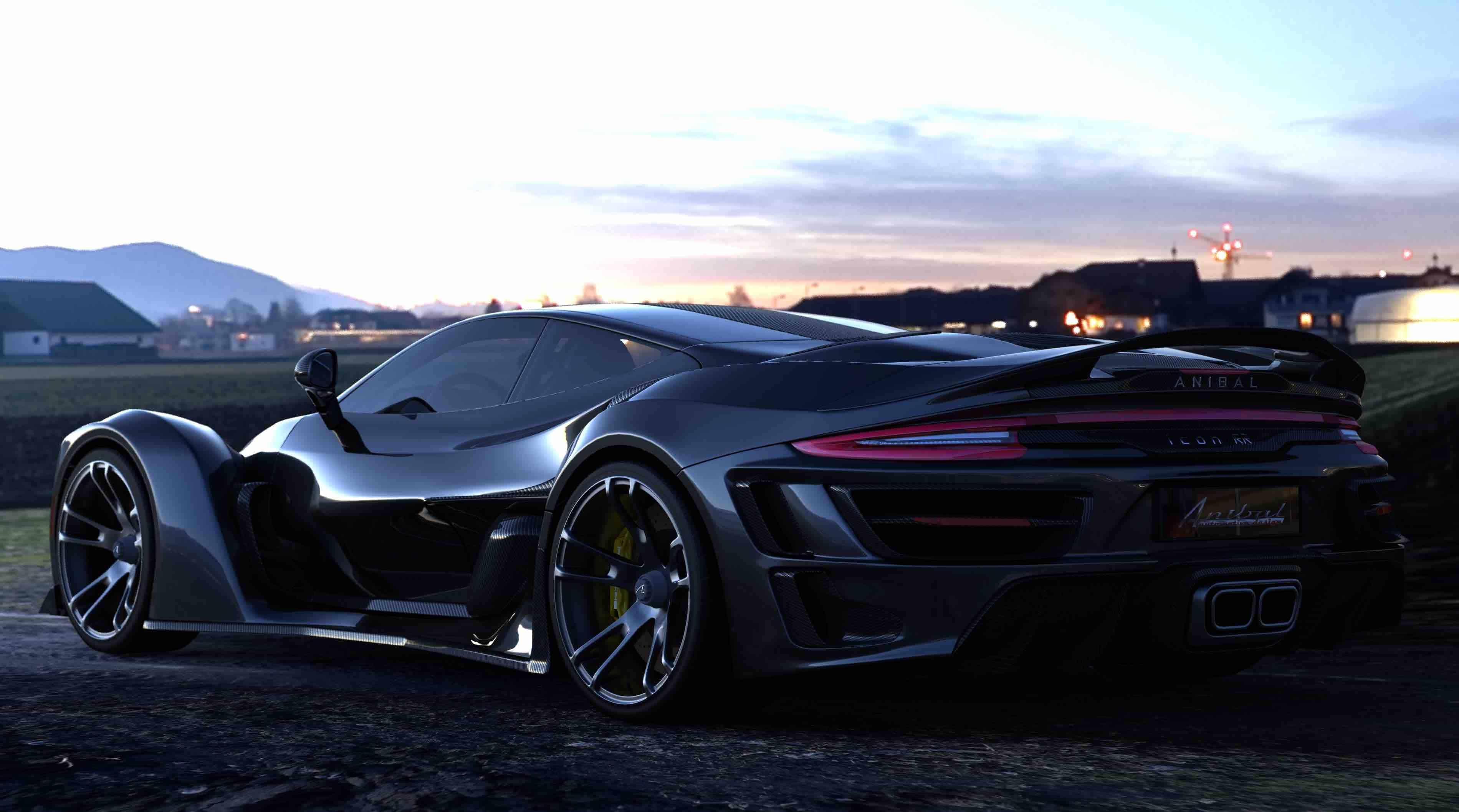Súper coche canadiense propulsado por un motor Porsche de 920HP