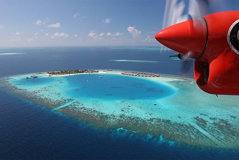 El mega espectacular Huvafen Fushi Resort en las Maldivas