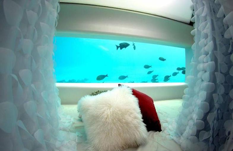 LIME, un ultra lujoso spa BAJO EL MAR en el mega espectacular Huvafen Fushi Resort en las Maldivas