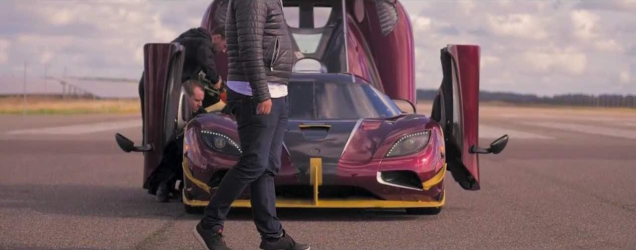 El Koenigsegg Agera RS rompió el récord del Bugatti Chiron de 0-400 Km/h en 5 segundos