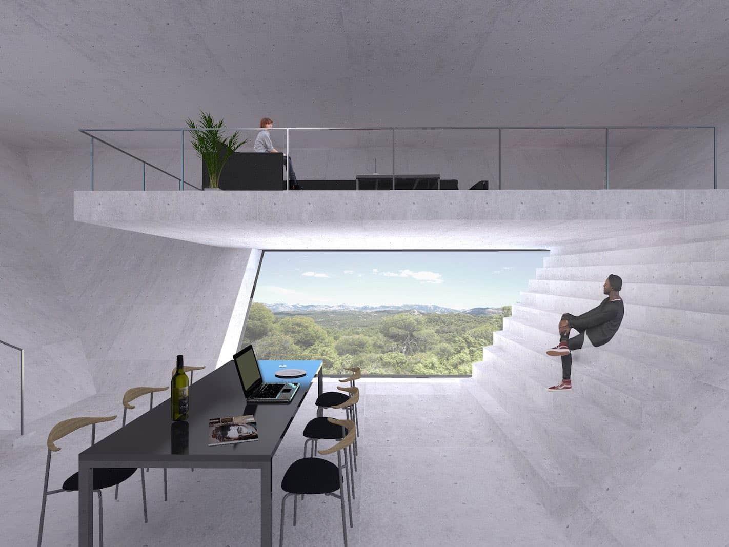Esta muy inusual y futurista casa está siendo construída en España por makoto takei + chie nabeshima