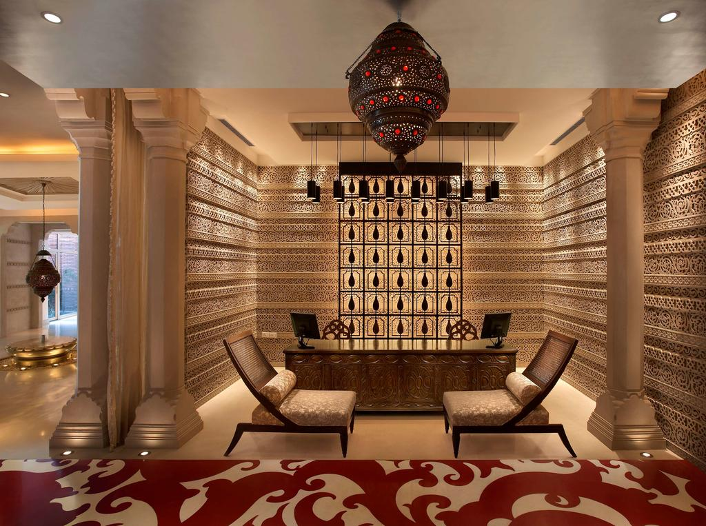 """Sumérjase en las riquezas étnicas de India visitando el lujoso y relajante ITC Mughal """"Royal Spa"""""""