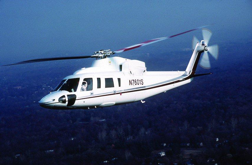 Sikorsky S-76: $12,95 millones (10,86 millones de euros)