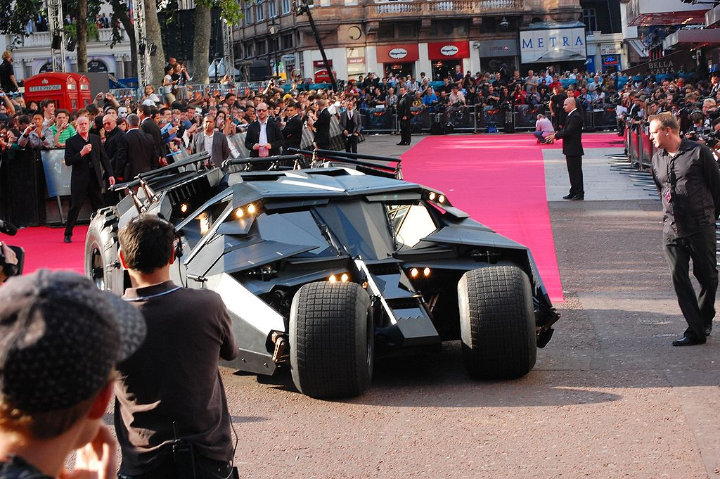 "The Tumbler: El Batmóvil ""The Dark Knight"""