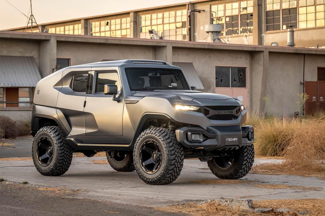 Rezvani Tank, un verdadero monstruo de $178.500 y 500 caballos de fuerza