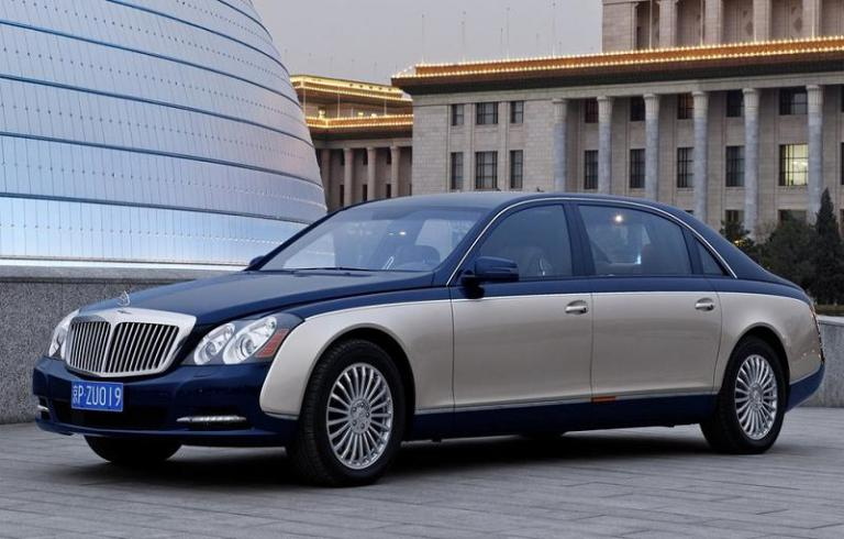 Maybach 62S Blindado por Rijck