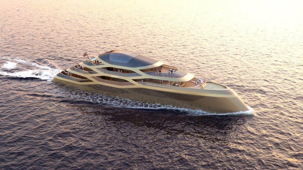 Benetti Yachts presentó el nuevo concepto de 77 metros: Se77antasette