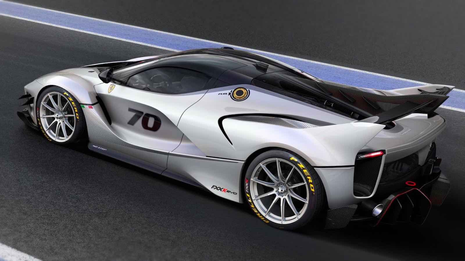 Fxx K Evo 2018 Ferrari Presenta Su Mas Extremo Superdeportivo Hasta La Fecha
