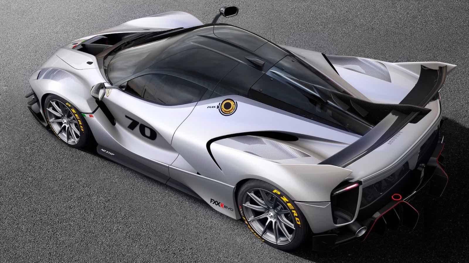 FXX-K Evo 2018: Ferrari presenta su más extremo superdeportivo hasta la fecha