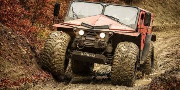 GHE-O Motors Rescue ¡Diabólico vehículo para todo los terrenos!
