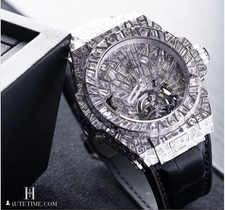 """Hublot Big Bang """"10 Years"""" Haute Joaillerie: #5 entre los relojes más caros del mundo"""
