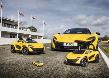 ¡Cool! Ahora hay un McLaren P1 para cada miembro de la familia