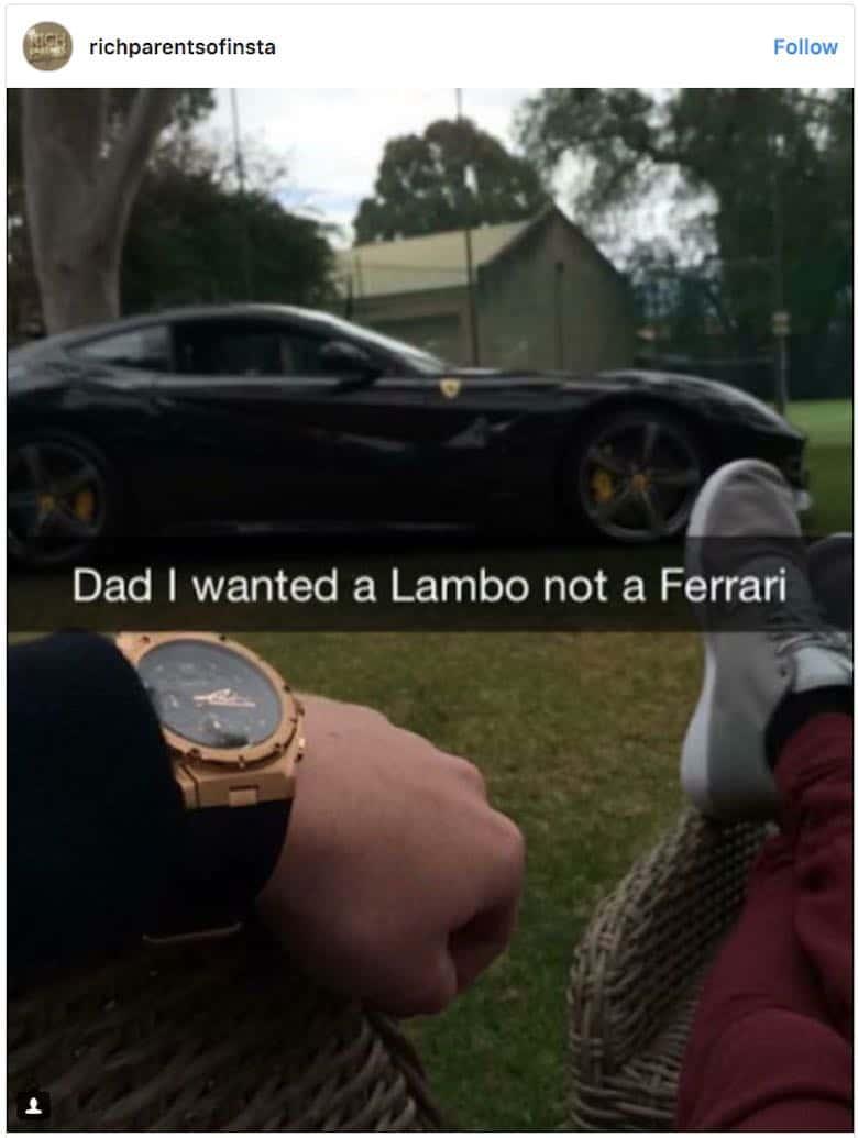 Padres Ricos de Instagram