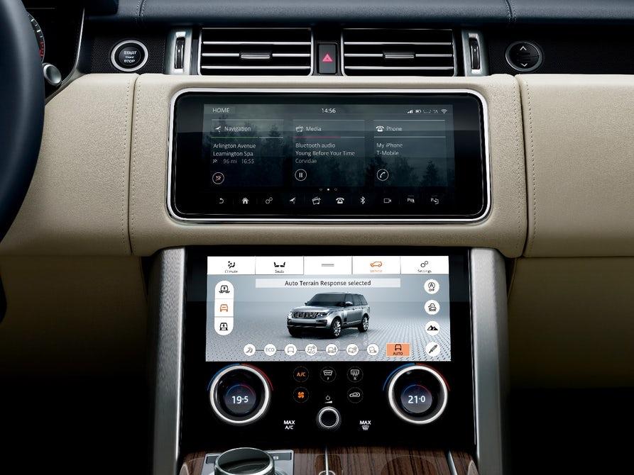 La nueva SUV Range Rover 2018 viene con un hermano híbrido enchufable