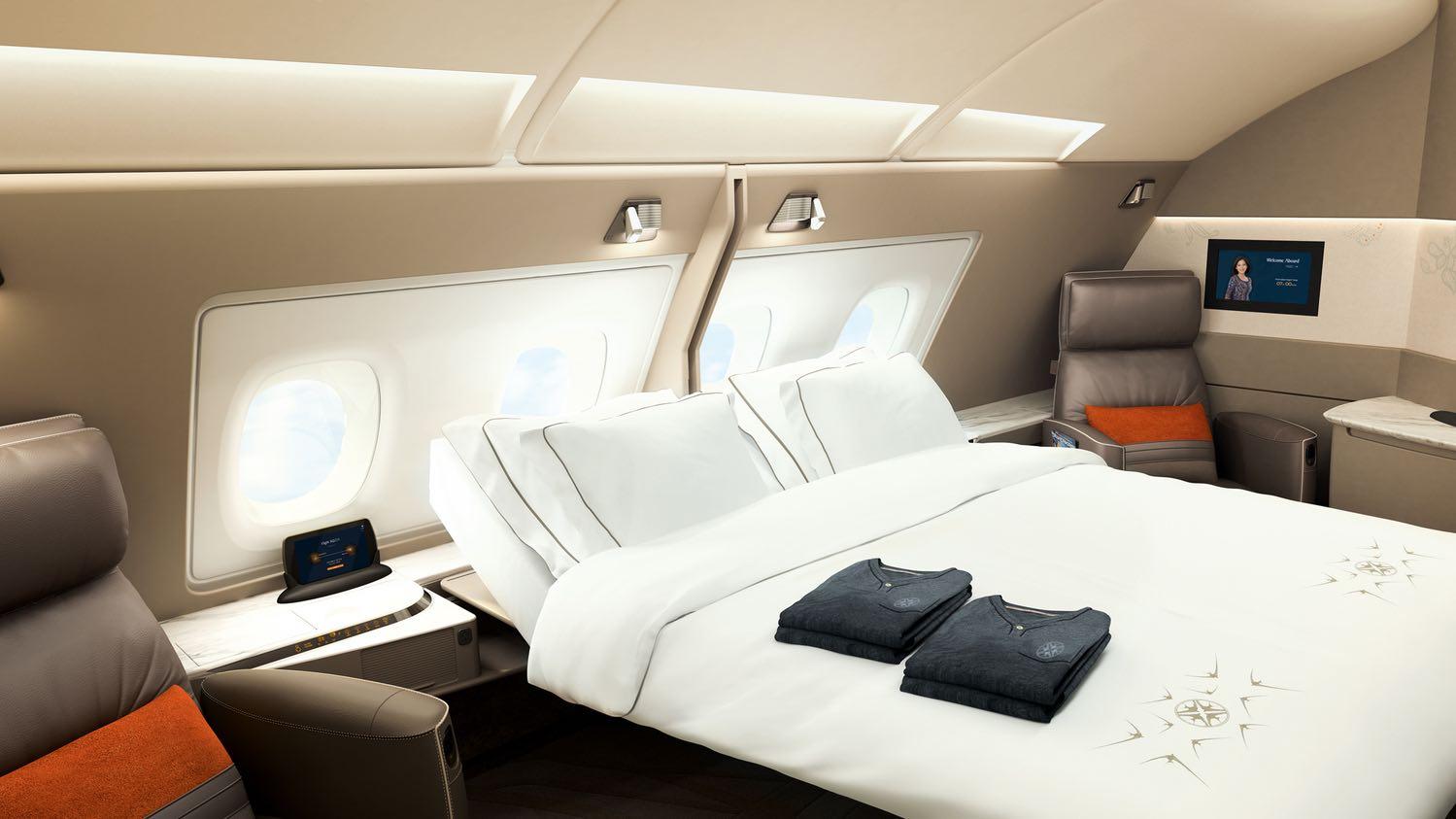 Singapore Airlines revela las nuevas y lujosas suites de su Airbus A380