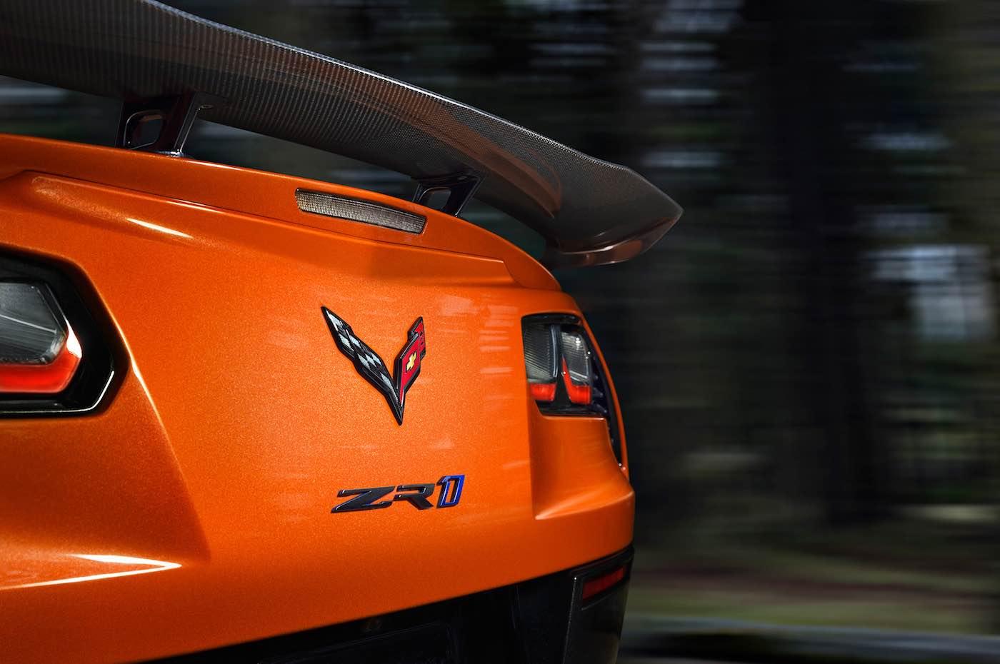 Chevrolet presenta el: Corvette ZR1 2019