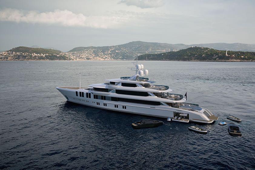Turquoise Yachts Presenta Su Nuevo Mega Yate De 73M