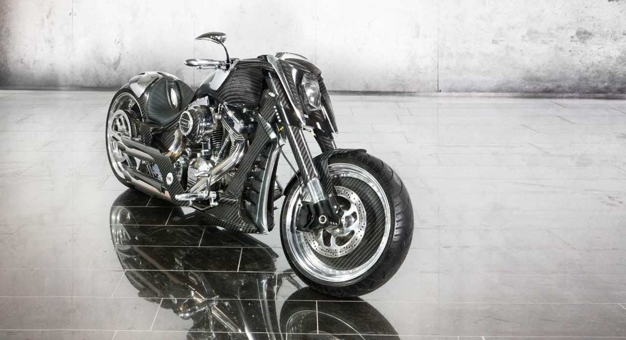 Espectacular motocicleta para los mega ricos.