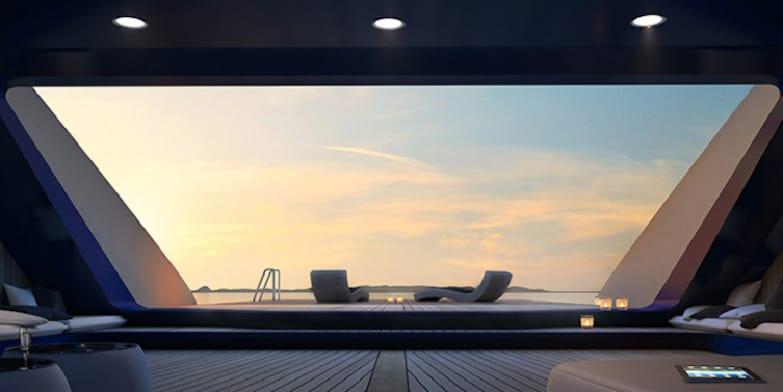 Ottantacinque: Lujoso mega yate diseñado por Fincantieri & Pininfarina