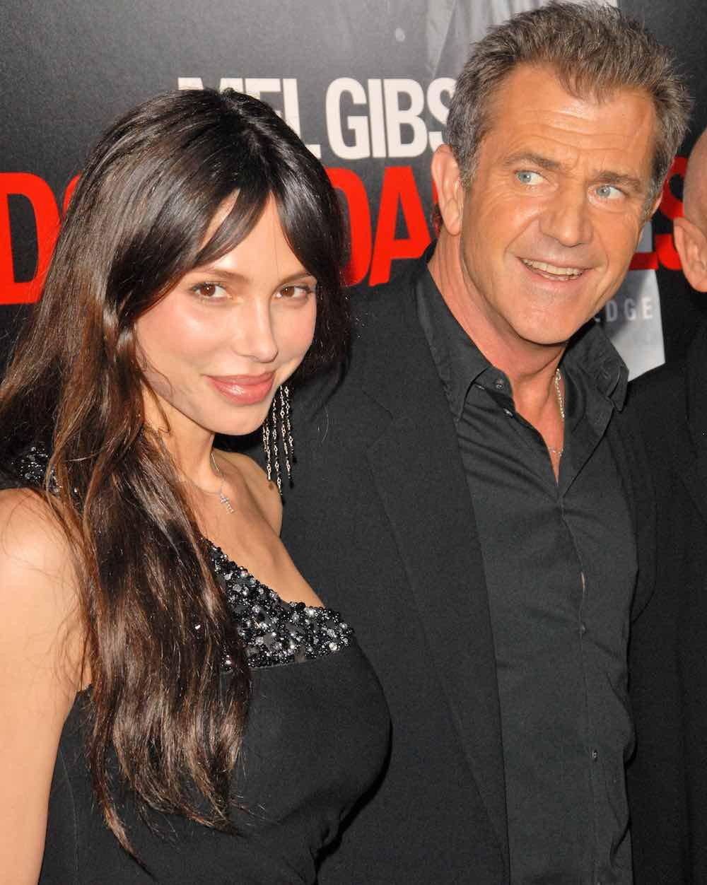 Oksana Grigorieva y Mel Gibson