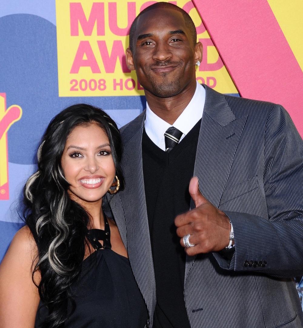 Kobe Bryant y su esposa Vanessa