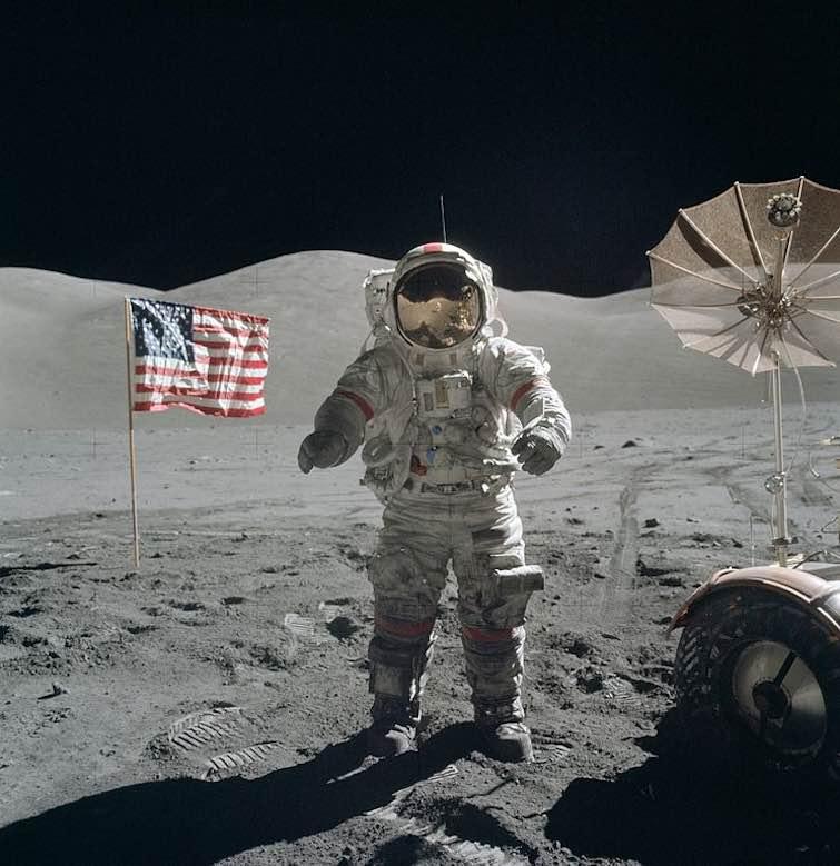 Apollo 17 Cernan