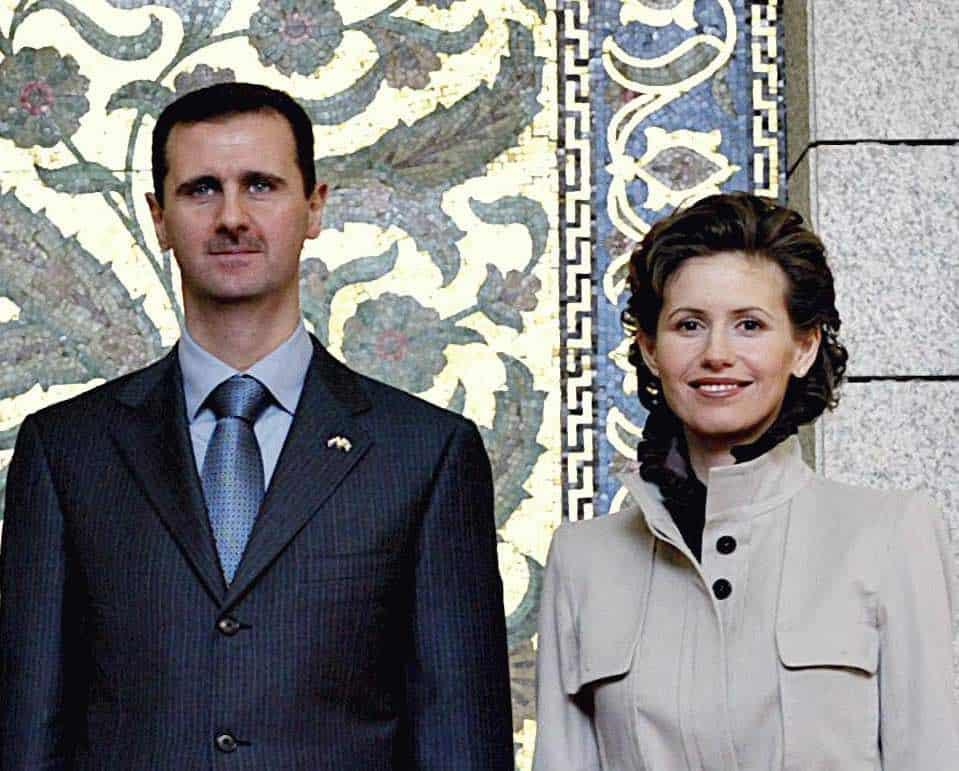 Bashar al-Assad y Asma al-Assad
