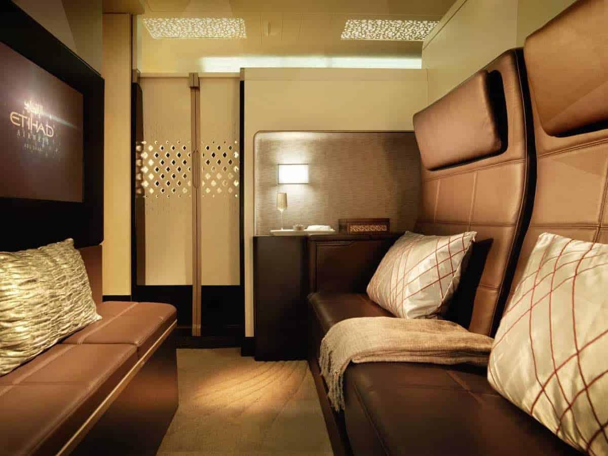 Las 10 cabinas de primera clase más lujosas del mundo