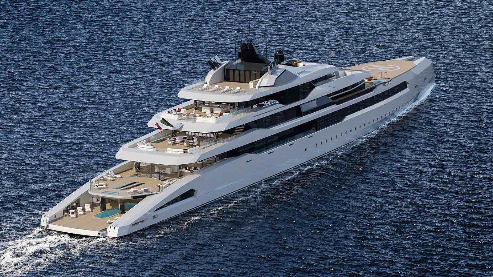Ganimede 110M: Fincantieri Yachts presenta nuevo yate concepto