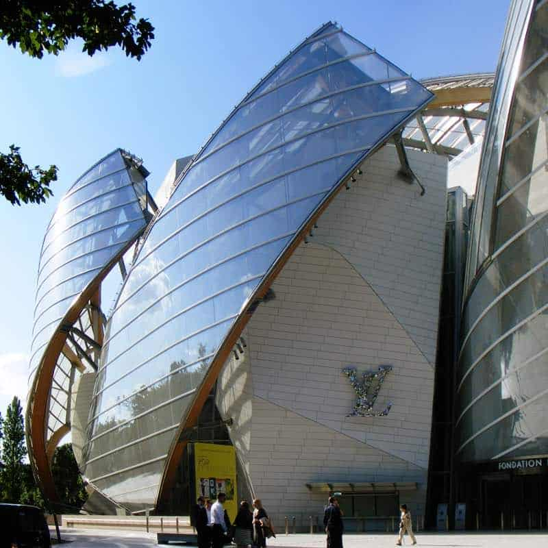 Fundación Louis Vuitton, Paris