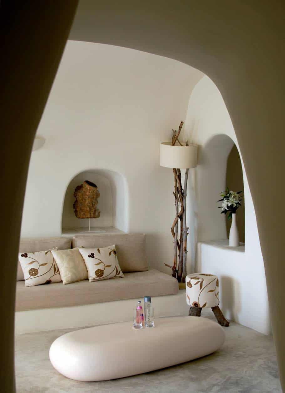 Ultra exclusivo hotel Mystique en Santorini, Grecia