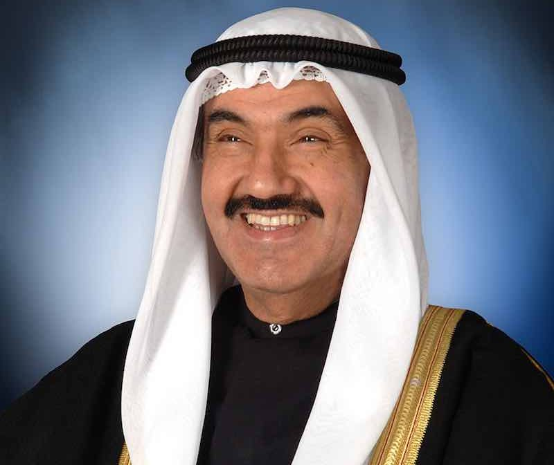 Jeque Nasser Al-Mohammad Al-Ahmad de Kuwait