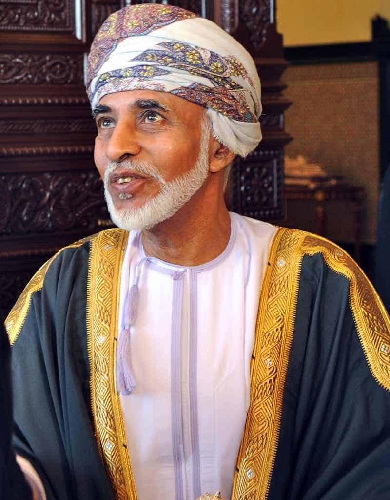 Sultan Qaboos Bin Said de Omán