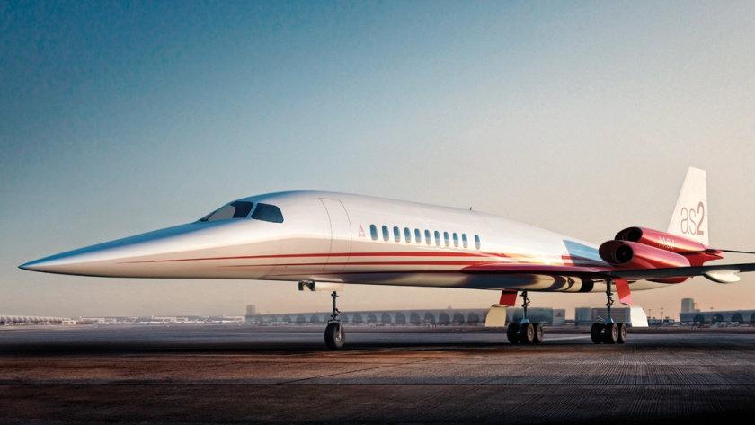 """Airbus & Aerion colaboran en el primer avión de negocio """"supersónico"""" capaz de volar de San Francisco a Tokio en menos de 5 HORAS"""