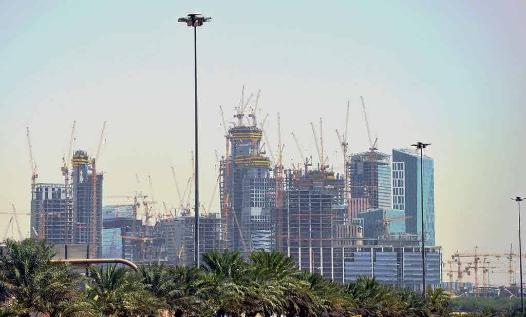 Así se verá la ciudad de $10 mil millones que Arabia Saudita está construyendo sobre el desierto