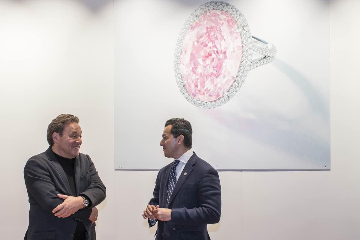 """¡La promesa más cara del mundo! Se vende el diamante """"Pink Promise"""" por $32 millones"""