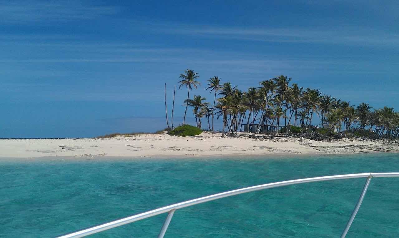 Isla en Las Bahamas