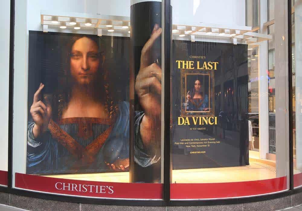 'Salvator Mundi' de Da Vinci