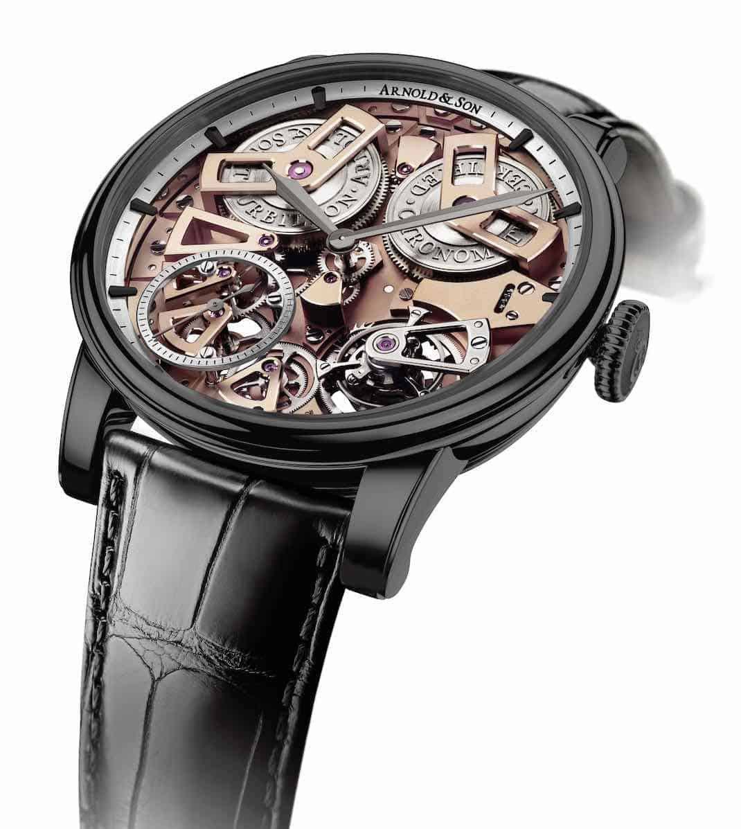 ARNOLD & SON presenta el ultra exclusivo: Tourbillon Chronometer No.36 Gunmetal