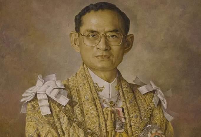 Rey Bhumibol Adulyadej de Tailandia